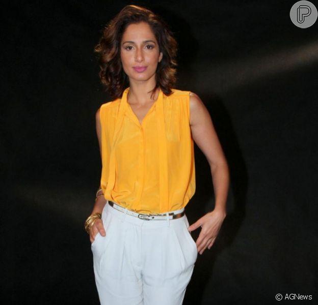 Camila Pitanga vai interpretar papel na série 'Sessão de Terapia' criado especialmente para ela
