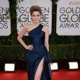 Amber Heard usou um vestido da grife Versace no Globo de Ouro 2014s