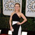 Hayden Panettiereusou um vestido da grife Tom Ford no Globo de Ouro 2014