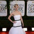 Jennifer Lawrence usou um vestido da grife Dior no Globo de Ouro 2014