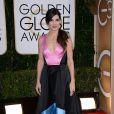 Sandra Bullockusou um vestido da grife Prabal Gurung no Globo de Ouro 2014
