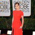 Emma Watsonusou um vestido da grife Dior no Globo de Ouro 2014