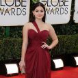 Ariel Winterusou um vestido da grife Mikael D no Globo de Ouro 2014