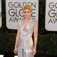 Kate Marausou um vestido da grife J. Mendel no Globo de Ouro 2014