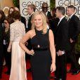 Amy Poehler usou um vestido da grife Stella McCartney no Globo de Ouro 2014