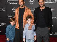 Ricky Martin posa com filhos e o noivo, Jwan Yosef, em première de filme. Fotos!