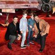 Ricky Martin levou os filhos e o namorado a première nos Estados Unidos
