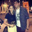 Kaká, que atualmente vive na Itália, é casado com Carol Celico