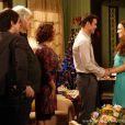 Gina (Carolina Kasting) e Elias (Sidney Sampaio) se casam, em 'Amor à Vida'