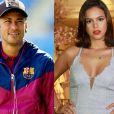 Neymar deve dar o anel de compromisso para Bruna Marquezine logo após o carnaval