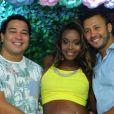 Roberta Rodrigues organizou chá de bebê para a sua primeira filha, Linda Flor, neste domingo, 22 de janeiro de 2017