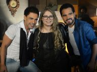 Marília Mendonça canta em gravação de DVD de Zezé Di Camargo e Luciano. Fotos!