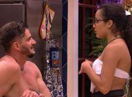 'BBB17': Marcos tenta beijar Emilly em festa, mas gêmea dispensa médico. 'Amigo'