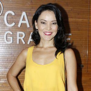 Geovanna Tominaga. Foto do site da Pure People que mostra Geovanna Tominaga vai participar de 'Sol Nascente' após perder papel na novela