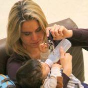 Fernanda Gentil exalta rotina da maternidade: 'A gente se vira em mil e uma'