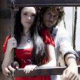 Anna (Isabelle Drummond) se apaixona por Joaquim (Chay Suede) e não corresponde à paixão de Dom Pedro (Caio Castro) Noémie (Luisa Micheletti), na novela 'Novo Mundo'