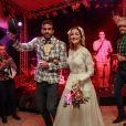 Gabriela Pugliesi e o noivo, Erasmo Vianna, estão sendo investigados pelo CREF-RJ