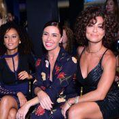 Juliana Paes, Giovanna Antonelli e Taís Araújo se encontram em desfile. Fotos!