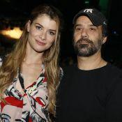 Alinne Moraes e o marido, Mauro Lima, se divertem em show no Rio. Fotos!