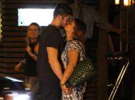 Preta Gil beija o noivo, Rodrigo Godoy, após jantar e encontra com Ana Carolina