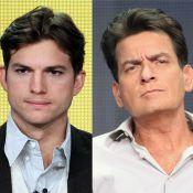 Charlie Sheen ataca Ashton Kutcher no Twitter: 'Tome cuidado com a sua língua'