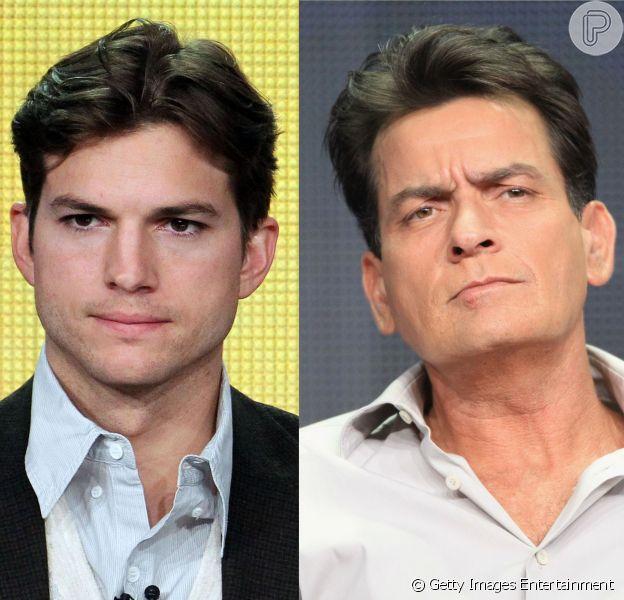 Charlie Sheen ataca Ashton Kutcher em seu Twitter