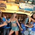 Sabrina Sato escolhe vestido azul para sua festa