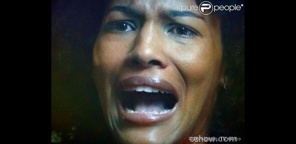 Nedinha (Jessica Barbosa) sofre um estupro coletivo, em 10 de fevereiro de 2014, na novela 'Em Família'
