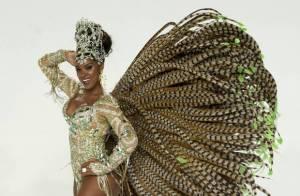 Cris Vianna, rainha da Imperatriz, será musa do camarote Rio, Samba e Carnaval