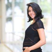 Carol Castro, no quarto mês de gravidez, escolhe parto natural: 'Sem anestesia'