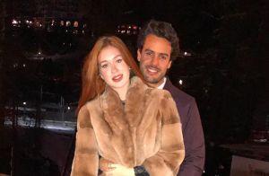 Marina Ruy Barbosa posta foto com casaco peludo, mas avisa: 'É falso'