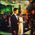 Carol Castro se casou com o modelo Raphael Sander nesta sexta-feira, 14 de janeiro de 2014, em São Conrado, Zona Sul do Rio de Janeiro