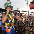 Netinho se apresentará ao lado da cantora Preta Gil em uma prévia do carnaval carioca, no Rio de Janeiro, no domingo que antecede o início oficial da folia na Cidade Maravilhosa