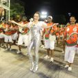 Christiane Torloni é rainha de bateria da Grande Rio em 2014
