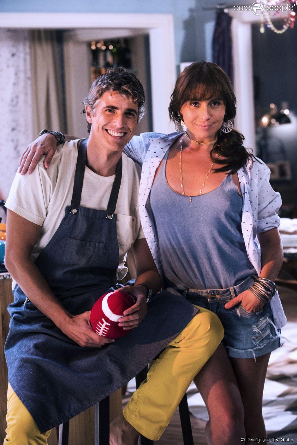 Cadu é marido da dona de casa Clara (Giovanna Antonelli)