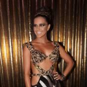 Mariana Rios desfila look de R$ 100 mil em baile: ouro e diamantes negros