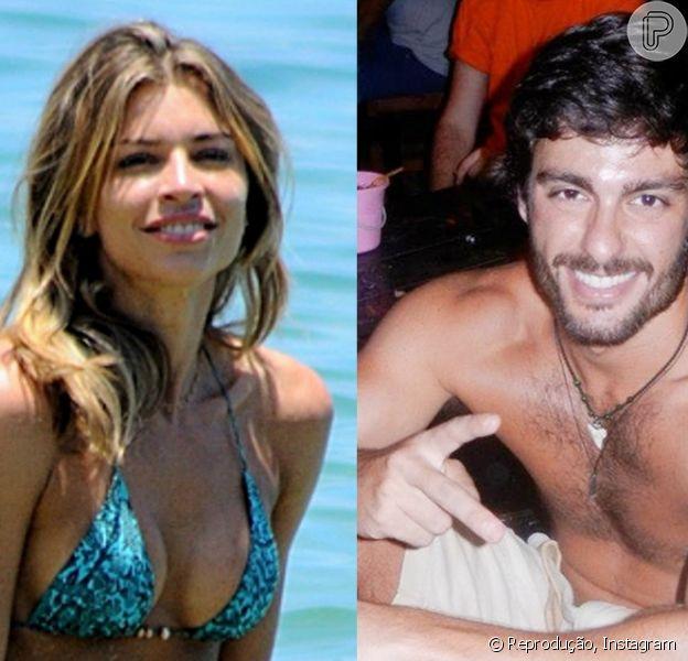 Rodrigo Lasmar ficou chateado com a declaração de Grazi, de que os dois só teriam ficado uma única só vez