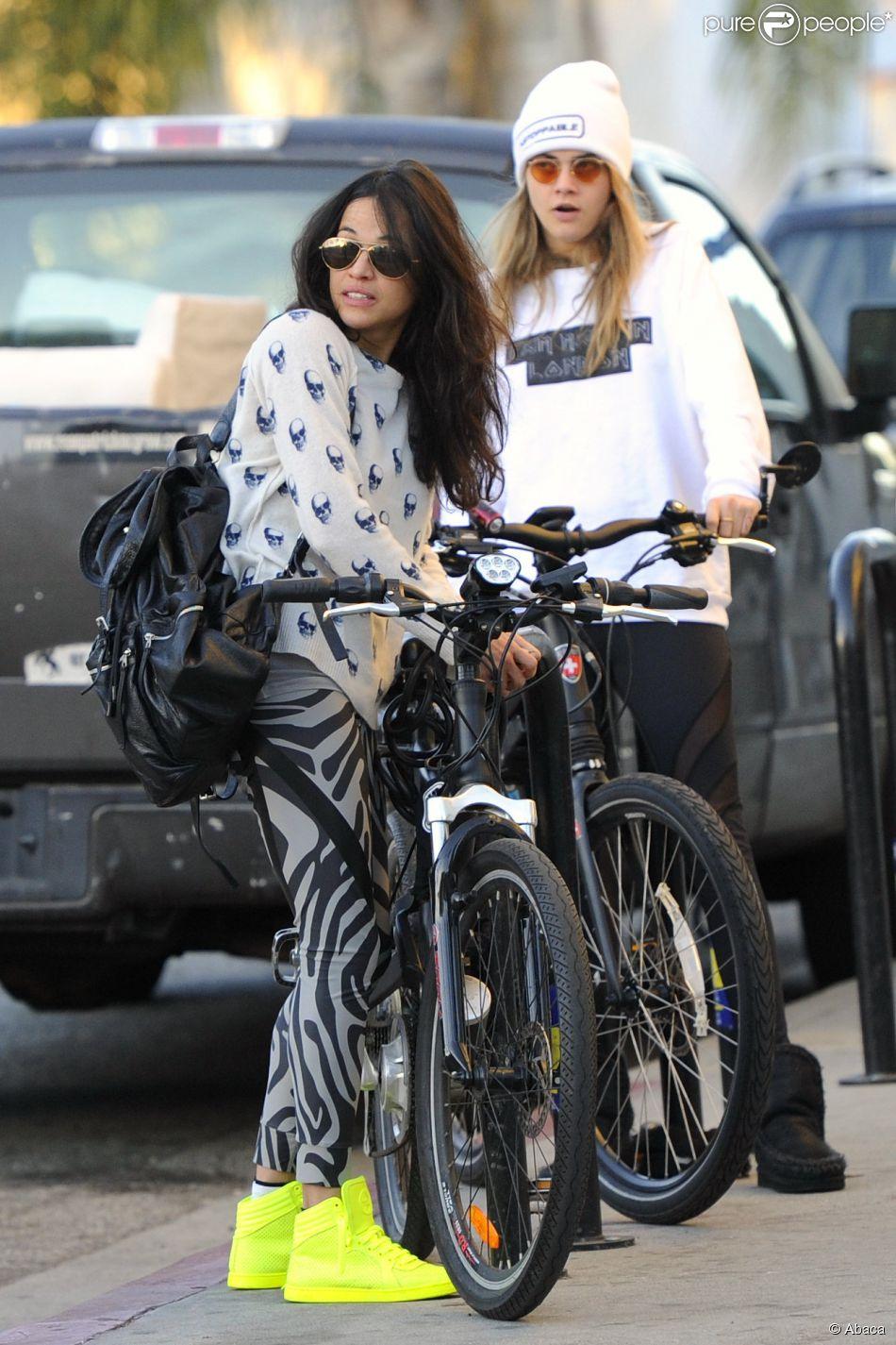 Michelle Rodriguez quer ter filhos com Cara Delevingne ...