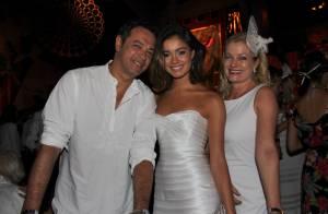 Baile do Rio: Sophie Charlotte leva os pais e Suzana Pires vai de peruca loira