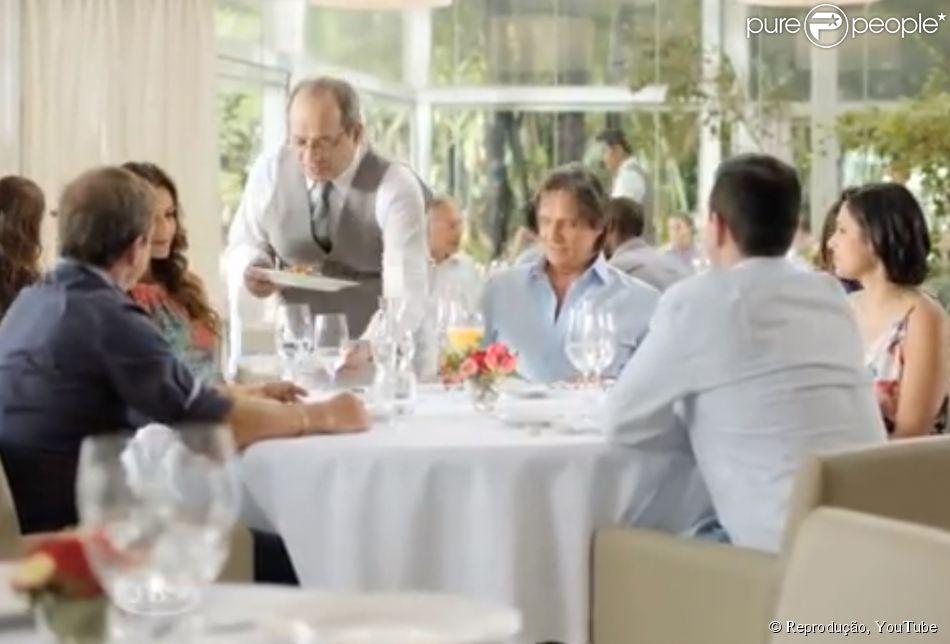 O comercial da Friboi com Roberto Carlos está envolto em uma nova polêmica