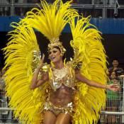 Thaila Ayala elogia fantasia usada na Gaviões da Fiel: 'Quero dormir assim'