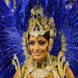 Aline Riscado, dançarina do 'Domingão do Faustão', usou fantasia luxuosa avaliada em R$ 50 mil