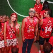 Separados, Thiago Rodrigues e Cristiane Dias brigam em camarote no Rio