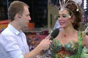 Tiago Leifert estreia como repórter no Carnaval da Globo. Veja algumas pérolas
