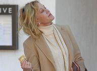 Melanie Griffith vai às compras depois de almoçar em Los Angeles, nos EUA