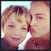 Joaquim, filho mais velho de Luciano Huck e Angélica, completa 9 anos