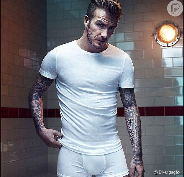 David Beckham é eleito melhor modelo de cuecas do século por Tommy Hilfiger