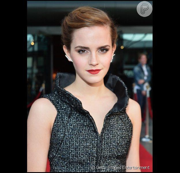 Emma Watson contratou umaguarda-costas por 150 mil dólares