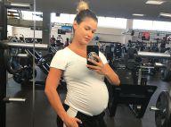 Andressa Suita mantém rotina fitness na reta final da gravidez: 'Mamãe saudável'