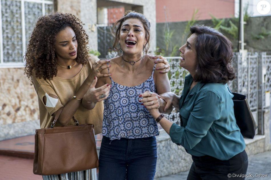 Juliana Paes tem apelido por chorar rápido em 'A Força do Querer' nesta quarta-feira, dia 21 de junho de 2017